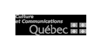 Logo Culture et Communications Québec