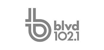 Logo BLVD 102,1